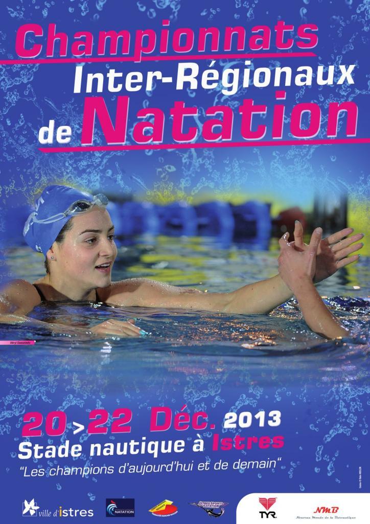 Affiche interregionaux 25m 2013